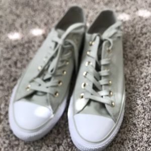 Converse Green Ankle Shoes Women's 8
